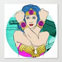 Occupy Wall Street POP ART Canvas Print