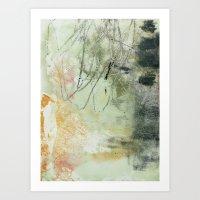 Lines & Texture 1 Art Print