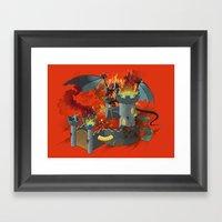 Partners Framed Art Print