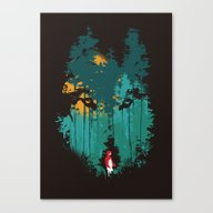 The Woods Belongs To Me Canvas Print