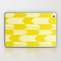 Yellow  Boho Arrows Laptop & iPad Skin