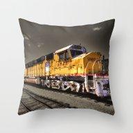 Union Pacific Centennial… Throw Pillow