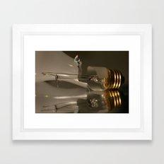 Reflecting on a Bad Idea Framed Art Print