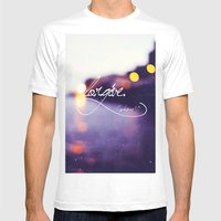Forgive Mens Fitted Tee White SMALL