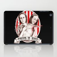 Tattler Twins (edited) iPad Case