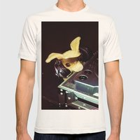 DJ Chalupa Mens Fitted Tee Natural SMALL
