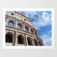Colosseum Art Print