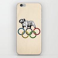 British Bulldog - Olympi… iPhone & iPod Skin