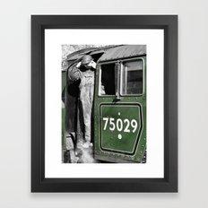 The Green Knight Driver Framed Art Print