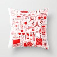 Graphics Design Student … Throw Pillow