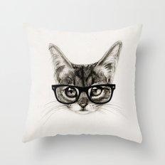 Mr. Piddleworth Throw Pillow