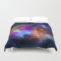 Spaceology Duvet Cover