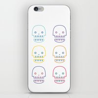 Robo Skull iPhone & iPod Skin