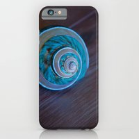 Blue Seashell iPhone 6 Slim Case