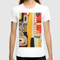 Chemins Womens Fitted Tee White SMALL