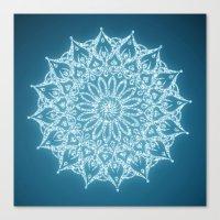 Zen Mandala (Serenity) Canvas Print