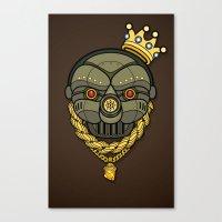 All City King G.A.S. Mas… Canvas Print