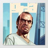 The Berserk , GTA 5 Trevor Canvas Print