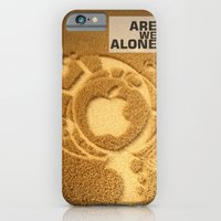 iPhone & iPod Case featuring Are we alone ? by Little cloud
