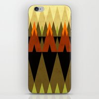 Living In The Woods iPhone & iPod Skin