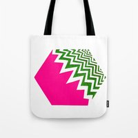 Watermelon Bizcut Tote Bag