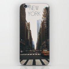 N E W . Y O R K iPhone & iPod Skin
