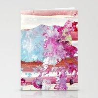 color splash #1 Stationery Cards