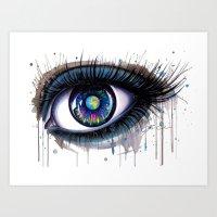 -The Earth- Art Print