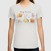 Marmalade Womens Fitted Tee Silver SMALL