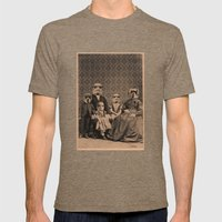 Meet the Troopers Mens Fitted Tee Tri-Coffee SMALL