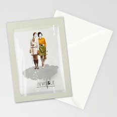 Invisible | Collage Stationery Cards