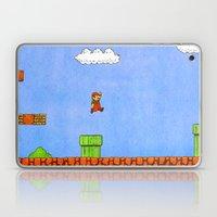 Super Mario Bros. Laptop & iPad Skin