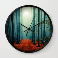 Landscape (colour Option… Wall Clock