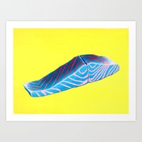 Salmon Filet. Art Print