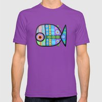 Fish Which Ate Ship Mens Fitted Tee Ultraviolet SMALL