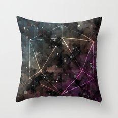 Midnight Constant Throw Pillow