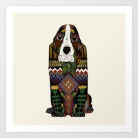 Basset Hound Art Print