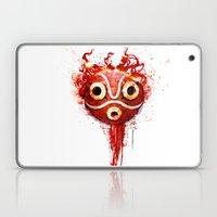 Princess Mononoke Mask  Laptop & iPad Skin