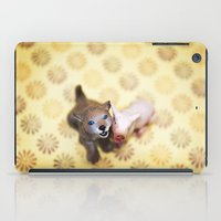 Why do we love dogs and eat pigs? iPad Case