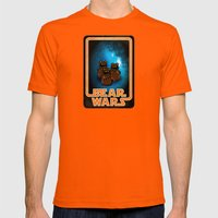 Bear Wars - the Wawas Mens Fitted Tee Orange SMALL