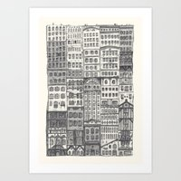 Crowded #1 Art Print