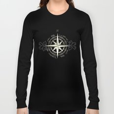 Not all those who wander are lost - J.R.R Tolkien Long Sleeve T-shirt
