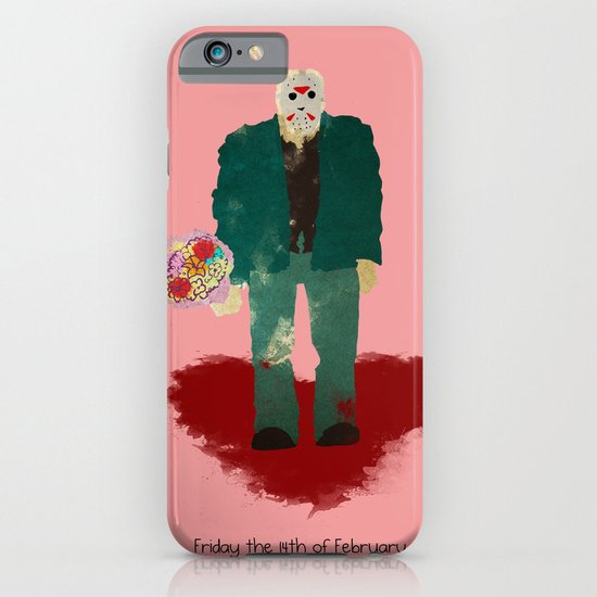 Friday the 14th of February (Monsters in Love) iPhone & iPod Case