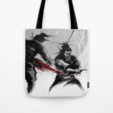 Samurai fight Tote Bag