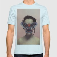 SUSPIRIA VISION Mens Fitted Tee Light Blue SMALL