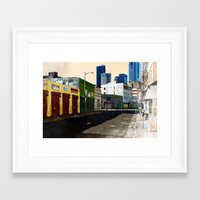 Urban Brutality  Framed Art Print