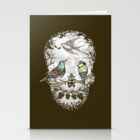 Nature's Skull II Stationery Cards