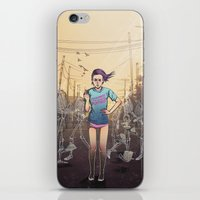Everything I touch gets ruined iPhone & iPod Skin