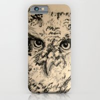 iPhone & iPod Case featuring Owls, 2.5 - Original by Suzanne Kurilla