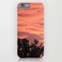 iPhone & iPod Case featuring Burning Sunrise by YAP9